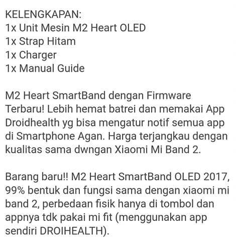 Jual Jam Tangan Smart M2 Heart - Kab  Lombok Barat - Satar_Lombok Shop |  Tokopedia