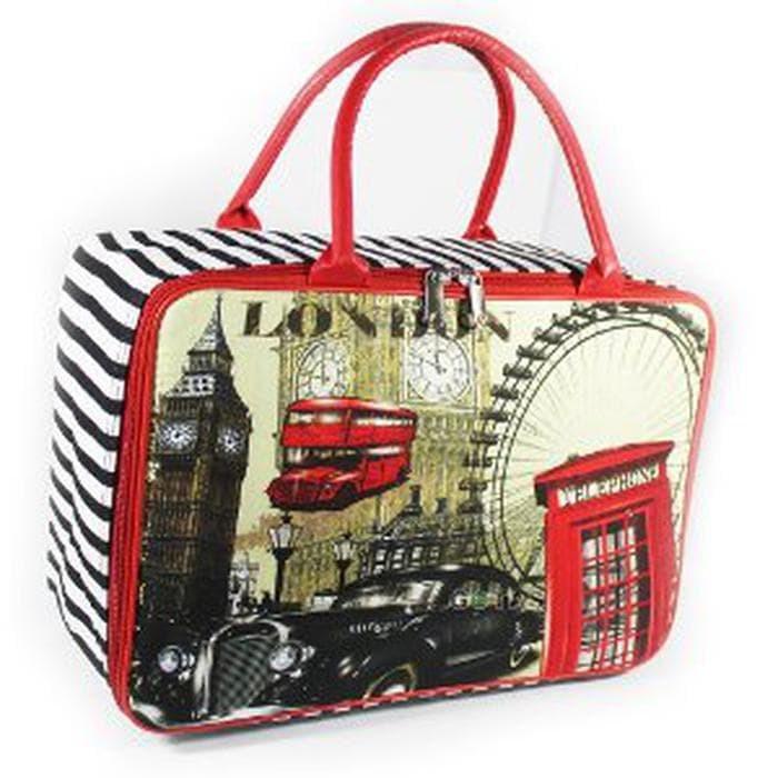 Travel Bag Koper Tas Kanvas London Ukuran Besar