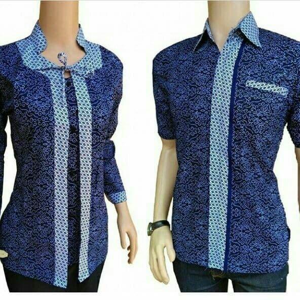 Jual Baju Batik Couple Modern Asli Pekalongan Kota Pekalongan Batik Modern Pekaalongan Tokopedia