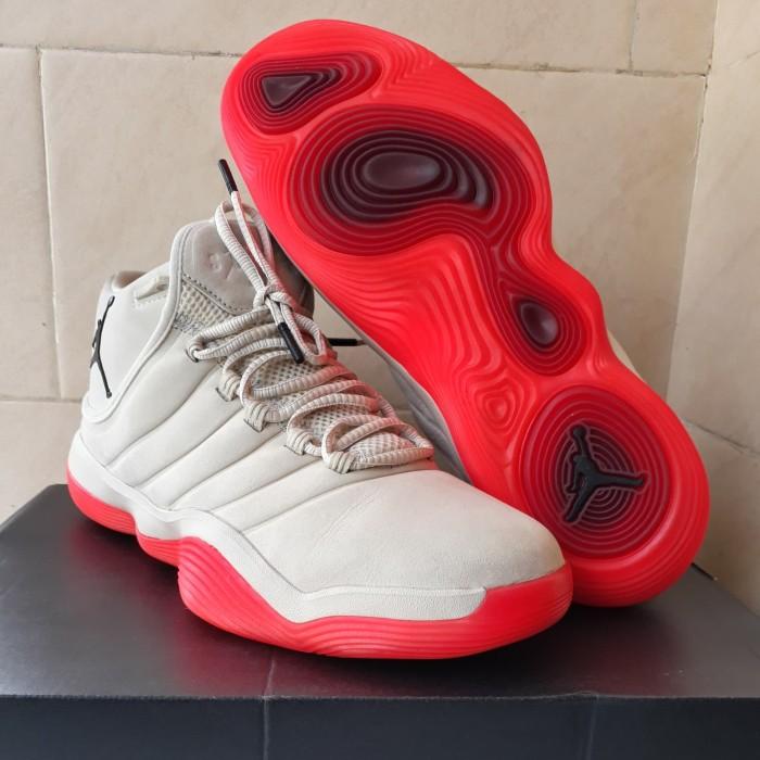 e815dacc3c2 Sepatu Sneakers Original Nike Jordan Super.Fly 2017  Sail Infrared 23