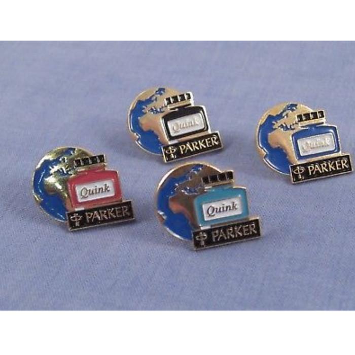 harga Parker pen quick ink bottle enamel advertising badge buttons Tokopedia.com