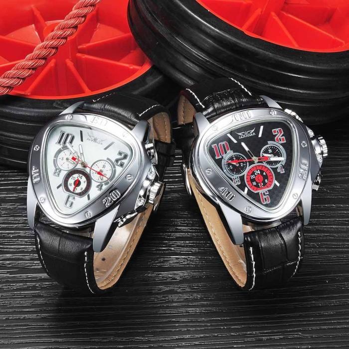 JARAGAR Jam tangan pria mekanikal otomatis case segitiga modis dan