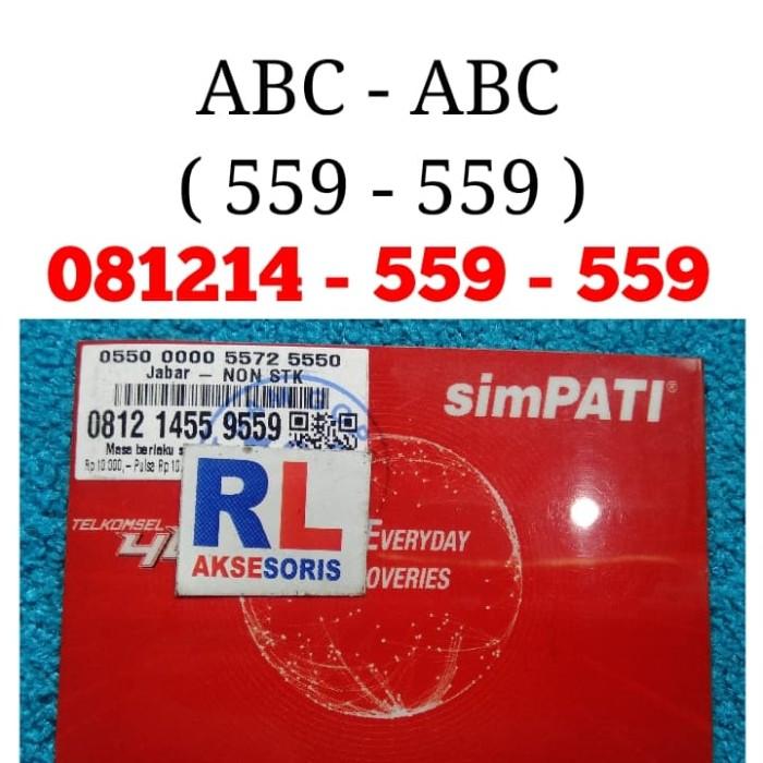 Nomor Cantik Simpati 559 ABC Nomor Cantik Telkomsel ABC 559