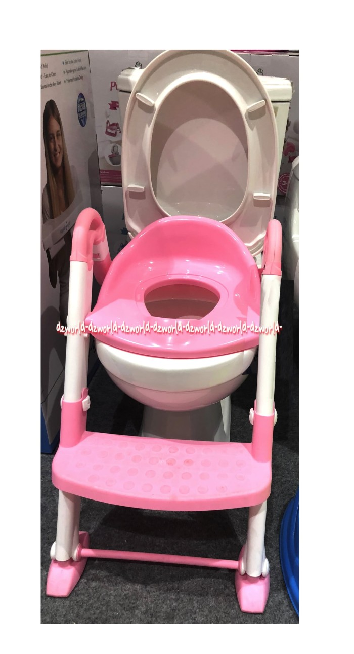 Potty Training Seat 3in1 Squat N Go Kids Toilet Training Untuk Anak