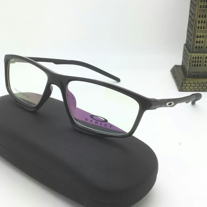 Paket Frame Kacamata Oakley Voltage Lensa Anti Radiasi - Wikie Cloud ... 5e48eb3fa4