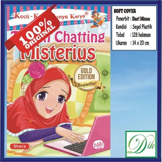 Buku Cerita Anak KKPK Teman Chatting Misterius