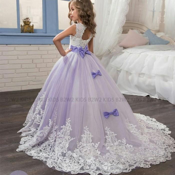 Jual Gaun Bridesmaid Gaun Pengantin Anak Gaun Pesta Anak Perempuan