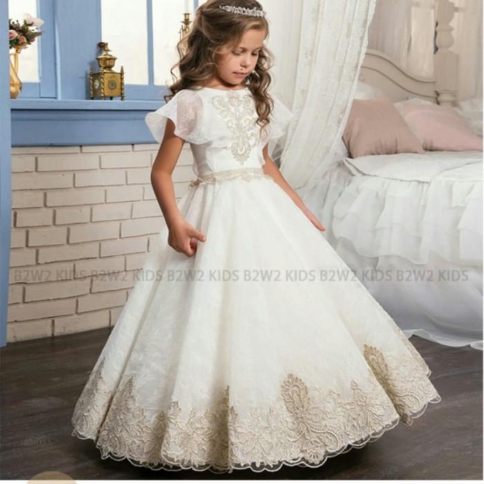 Jual Gaun Pesta Anak Perempuan Baju Pengantin Wedding Dress
