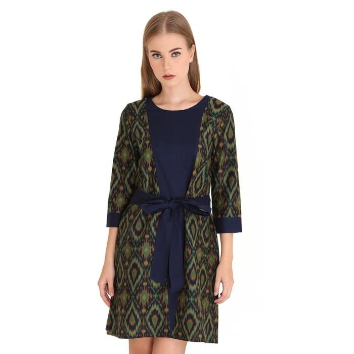 harga Dress batik wanita katun rianty batik refara - green - hijau l Tokopedia.com