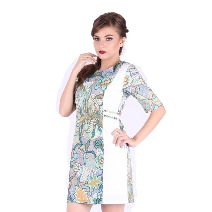 harga Dress batik wanita katun rianty batik klaudia - green - hijau muda m Tokopedia.com