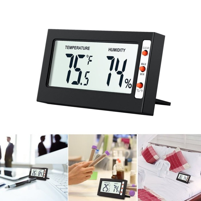 Jual Termometer Hygrometer Mini Digital dengan Layar LCD untuk Indo - DKI  Jakarta - Importir China Jack ma | Tokopedia