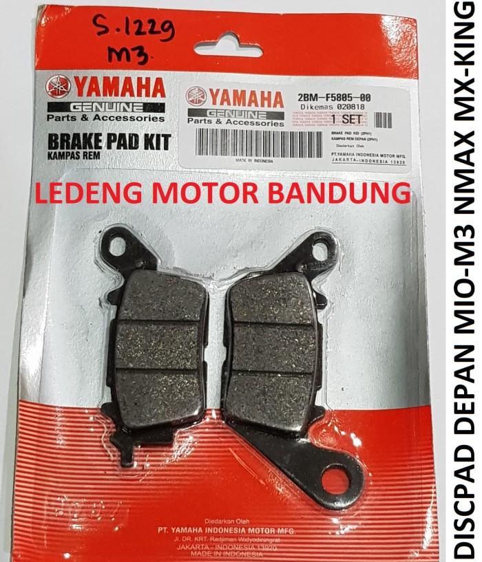 Foto Produk Nmax Disc Pad Kampas Rem Depan Cakram New Mio M3 MX King Original 2BM dari Ledeng Motor Bandung