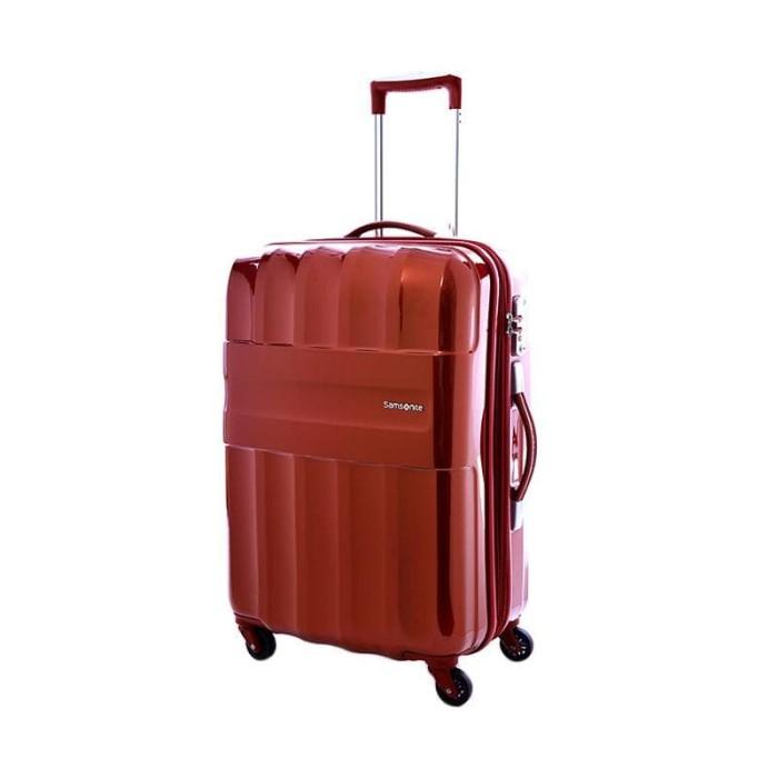 SAMSONITE Armet Spinner Hardcase Tas Koper Suitcase Merah Red