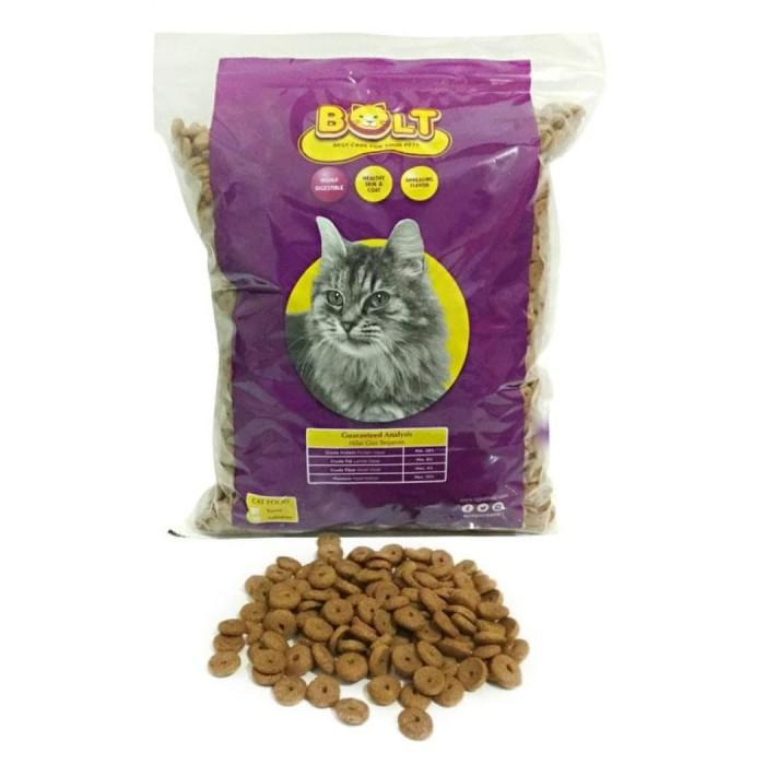 Jual Makanan Kucing Bolt Tuna 1kg Kemasan Repack Mirip Acis