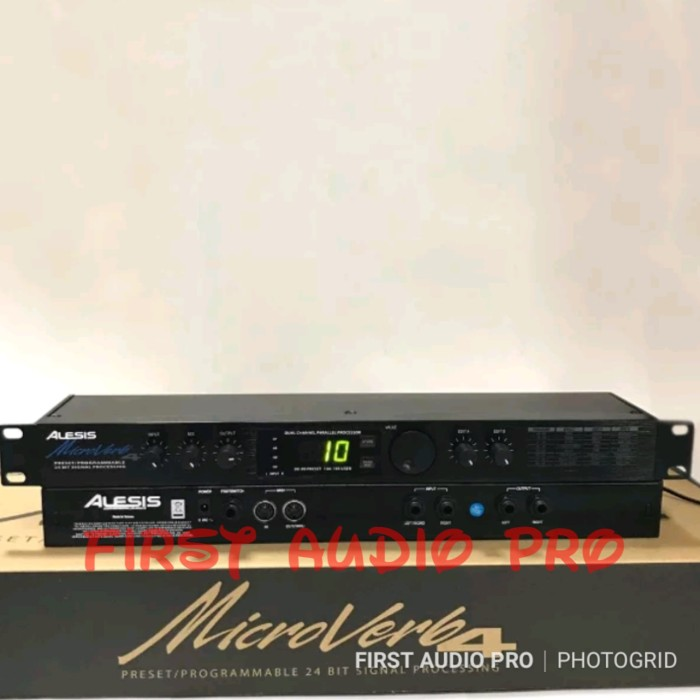harga Alesis microverb 4 ( effect vocal ) made in taiwan Tokopedia.com
