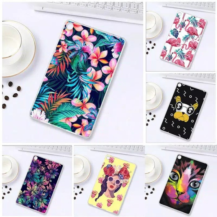 harga Xiaomi mi pad 4 mipad 4 soft case cover tpu motif lukisan warna 8inch Tokopedia.com