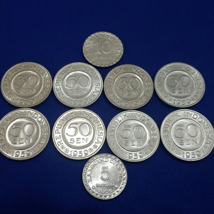 Uang Mahar Koin Rp 19 Paket Hemat Luster Toped002