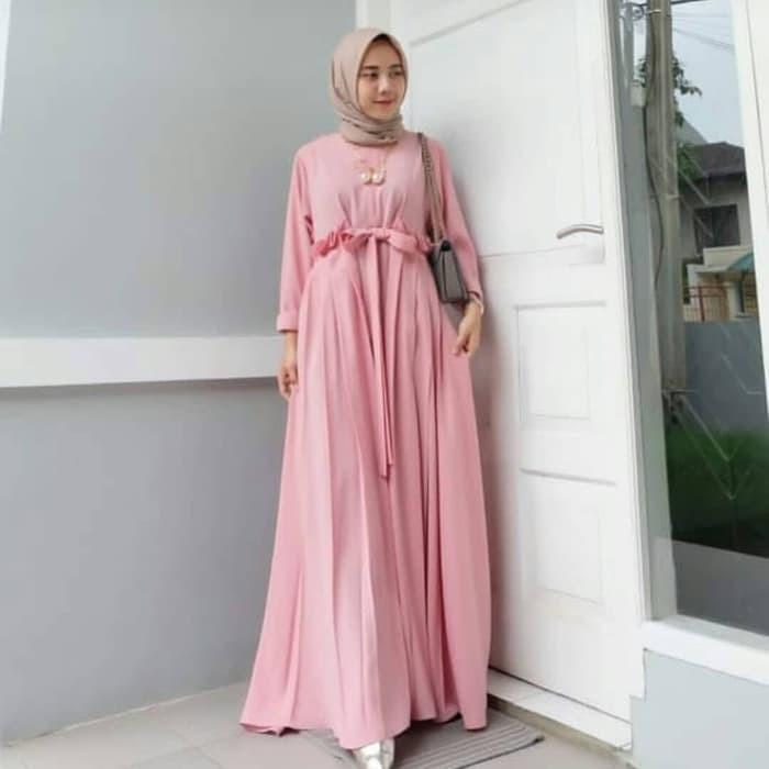953c6fbf9119a Jual PROMO!!! SABILA DRESS MAXI / LONG DRESS MUSLIM /GAMIS WANITA - Kab.  Bandung - baby & momy shop | Tokopedia