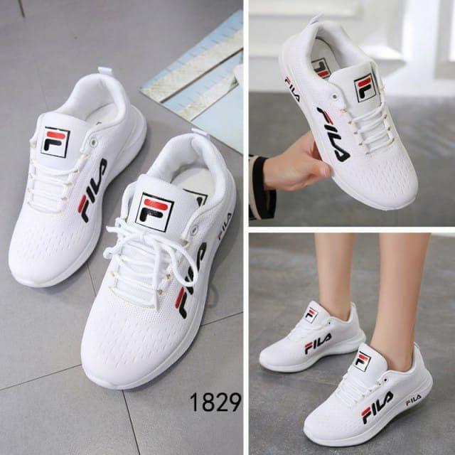 Jual Sepatu FILA Athletic Sneakers 1829 Semi Premium - Putih 9e2121d0eb
