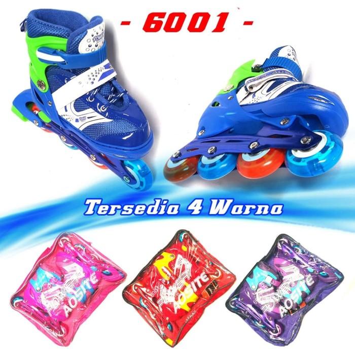 Harga Terbaru Sepatu Roda Anak Inline Skate Kids Ban Karet LED PVC ... 582b19c2c4