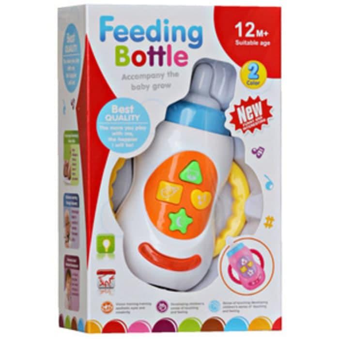 harga Mainan bayi feeding bottle with light / mainan botol susu musik lampu Tokopedia.com
