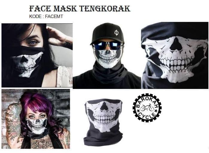 Foto Produk face Mask / Bandana Tengkorak dari Toko Sepeda Barokah