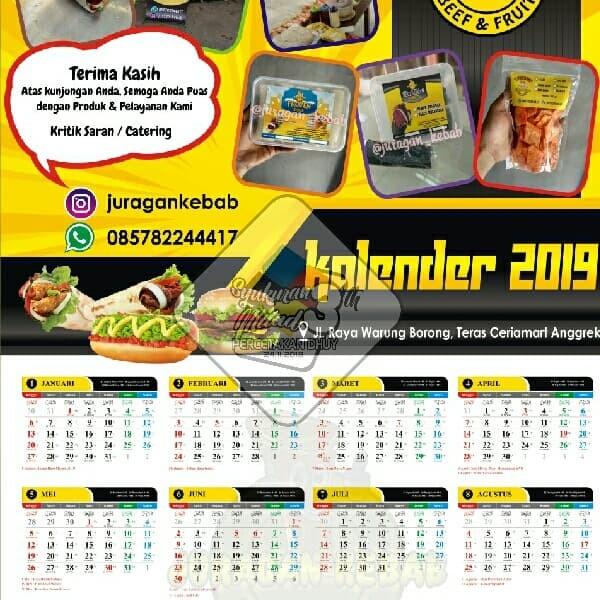 Jual Cetak Kalender 2019 Promosi Usaha Lebih Ekonomis Kab Bogor Percetakan Dhuy Tokopedia
