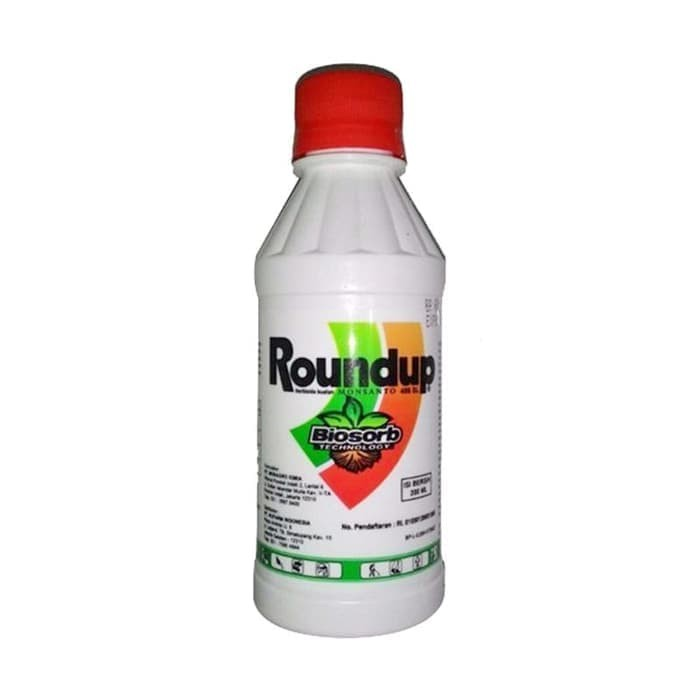 Roundup 486 SL Obat Pembasmi Rumput Liar (Herbisida) isi 200 ml