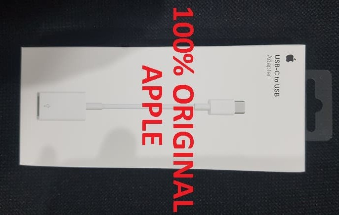 Genuine Apple USB-C-to-USB Adapter for MacBook White  MJ1M2AM//A  NEW!!
