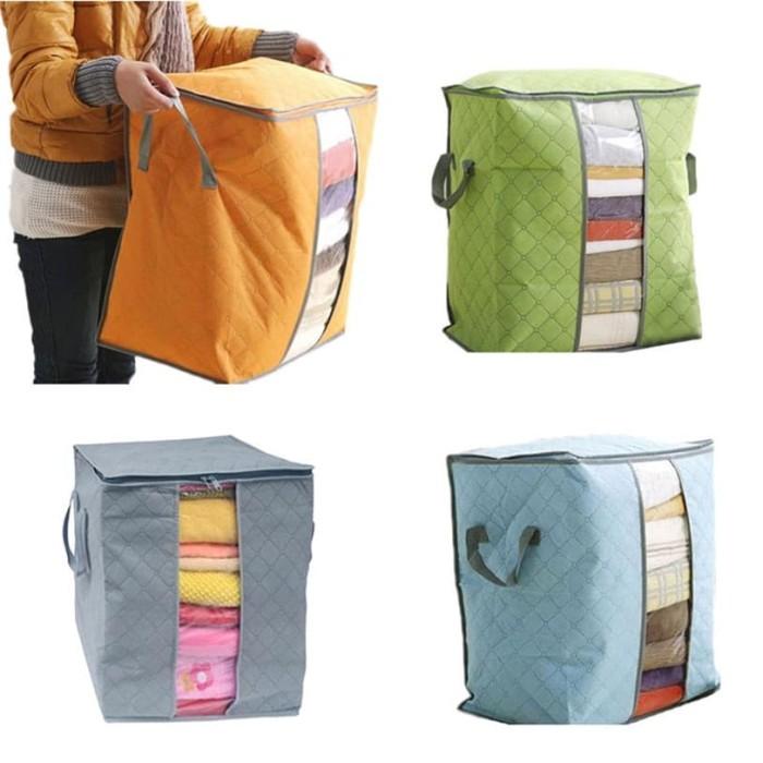 ... Storage Bag Tinggi Organizer Baju Tegak