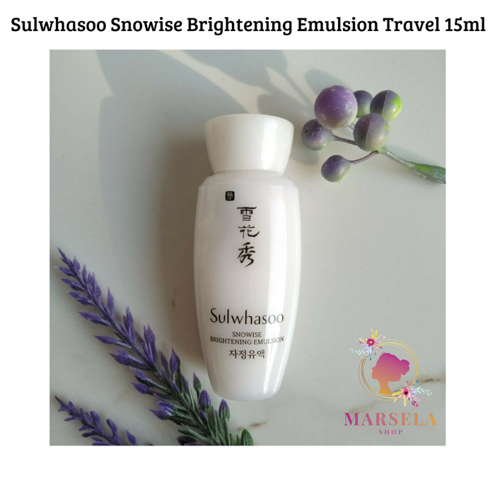 Sulwhasoo snowise brightening emulsion travel 15ml
