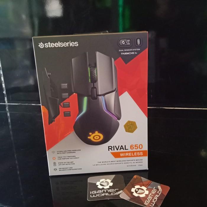 1623d5428b8 Jual Steelseries Rival 650 Wireless Mouse Gaming - Kota Surabaya ...