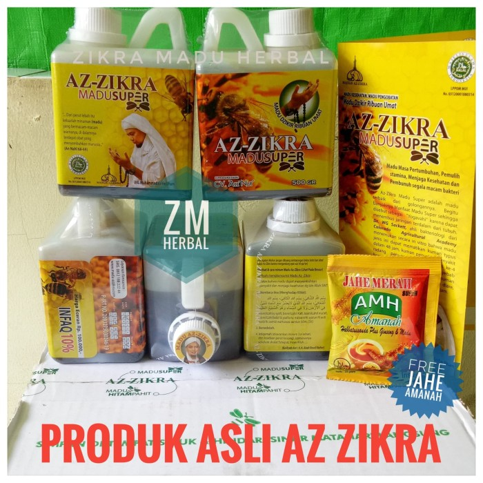 Madu Super Az Zikra Madu Az-Zikra 500 gr