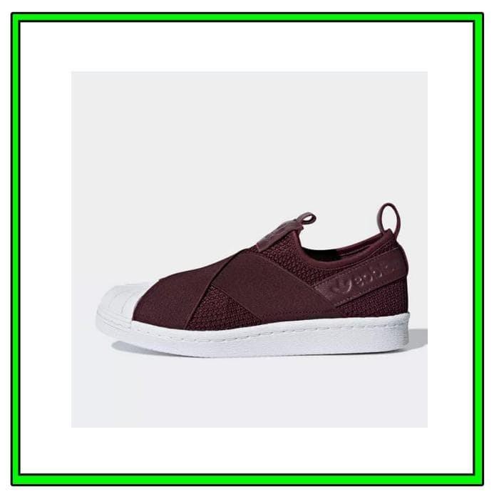premium selection da318 a5ce5 Jual Sepatu Sneakers Adidas Wmns Superstar Slip On Red Night Original B3737  - DKI Jakarta - TrendFashion Terbaru   Tokopedia