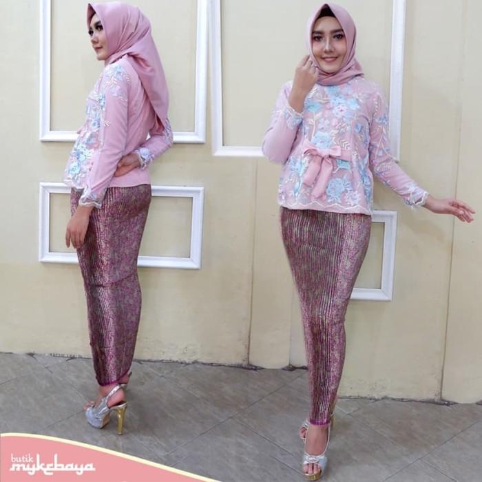 Jual Kebaya Hijab Kebaya Muslim Modern Kebaya Wisuda Murah Abu Abu Muda Atasan Kota Surakarta Solokebaya Net Tokopedia