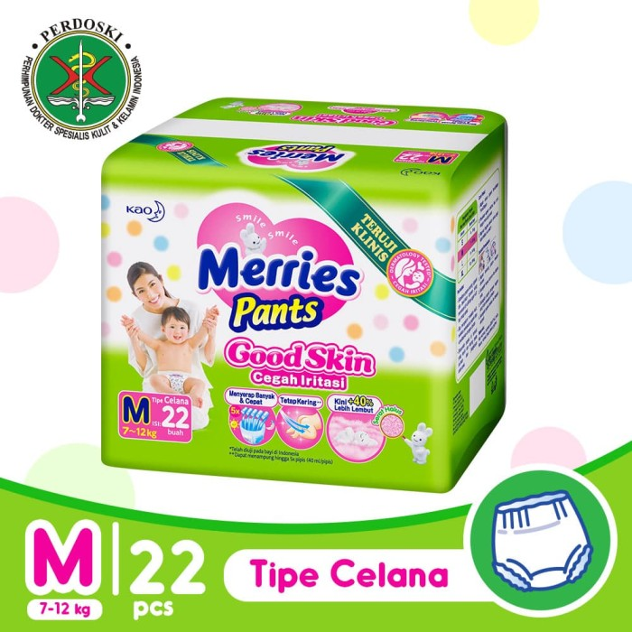 harga Merries pants good skin m 22 Tokopedia.com