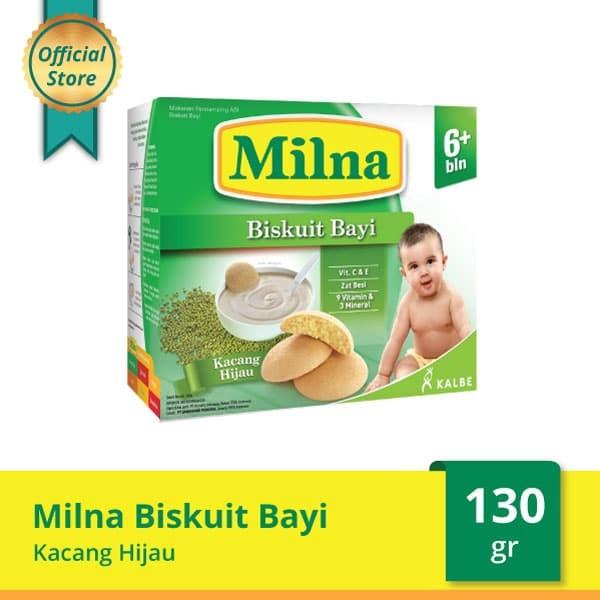 harga Milna baby biscuit kacang hijau 130 g Tokopedia.com