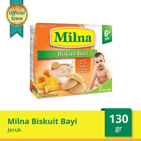 harga Milna baby biscuit jeruk 130 g Tokopedia.com
