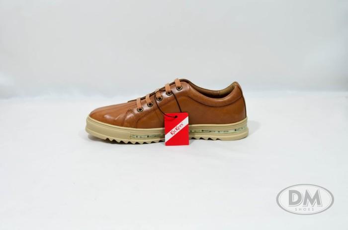 Jual Sepatu Kulit Pria Lifestyle Kickers 2907 Kota Makassar