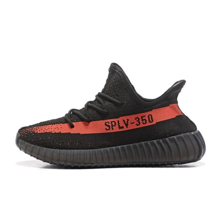 Foto Produk Sepatu Sneakers Desain Adidas Yeezy 350v2 Boost Ringan Bahan Mesh dari Toserba Support LZD