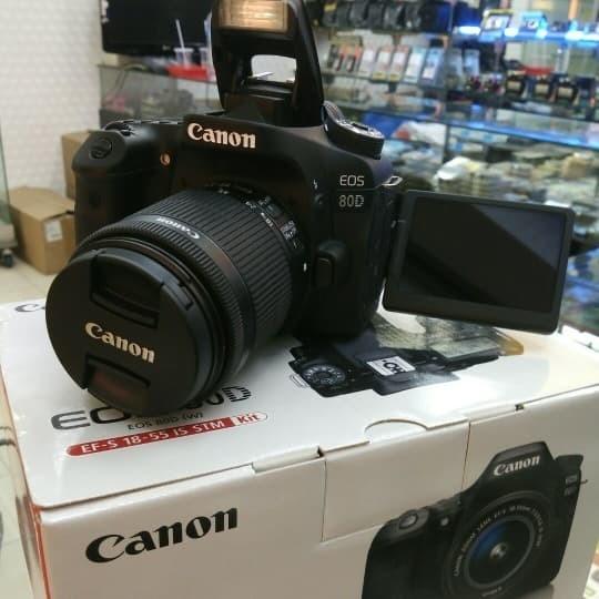 harga Canon eos 80d kit 18-55mm stm wifi Tokopedia.com