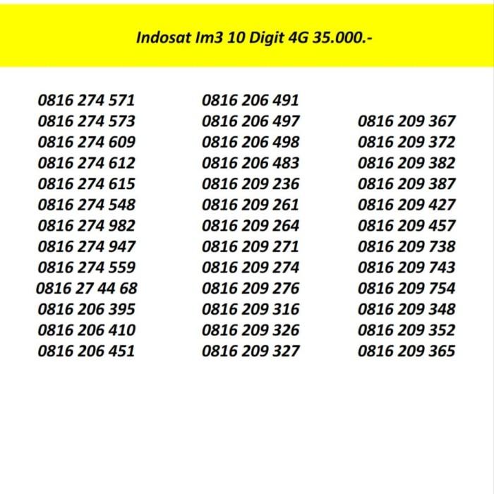 Info Nomor Cantik Travelbon.com