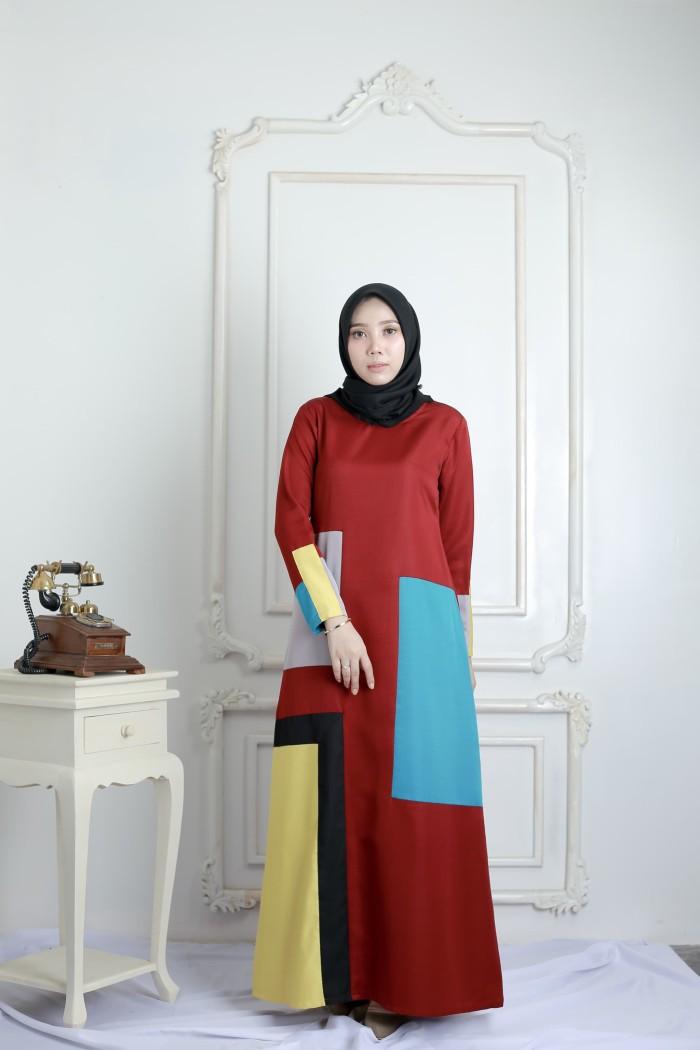 Gamis Swh Abaya By Fizana Casual Premium - Blanja.com
