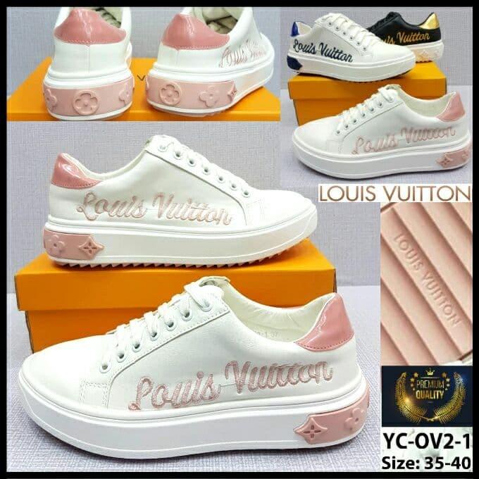 b12c05e8b0 Jual Sepatu Louis Vuitton YC-OV2-1 Time Out Trainer Sneaker Sol 3cm -  Jakarta Utara - Lancar Jaya 888 | Tokopedia