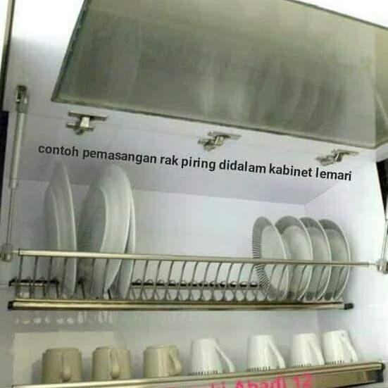 Jual Rak Piring Kitchen Set 60cm Stainless Mitra Jaya Magelang