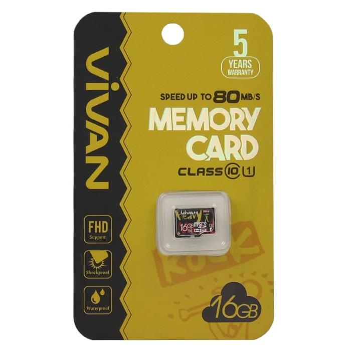 Microsd Vivan 16GB C10 NA