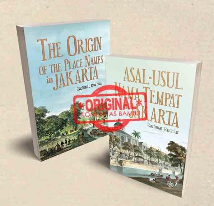 Foto Produk Asal Usul Nama Tempat di Jakarta (Edisi Dua Bahasa) dari Official Buku Kobam