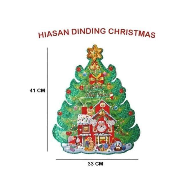 Jual Ready Stok Dekorasi Dinding Hiasan Natal Pohon Christmas Tree Mura Jakarta Selatan Ibrahim Abdullah Shop Tokopedia