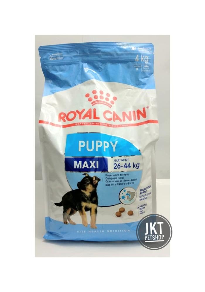 Royal Canin Maxi Puppy/Maxi Junior (26-44kg) 4kg Makanan Anak Anjing