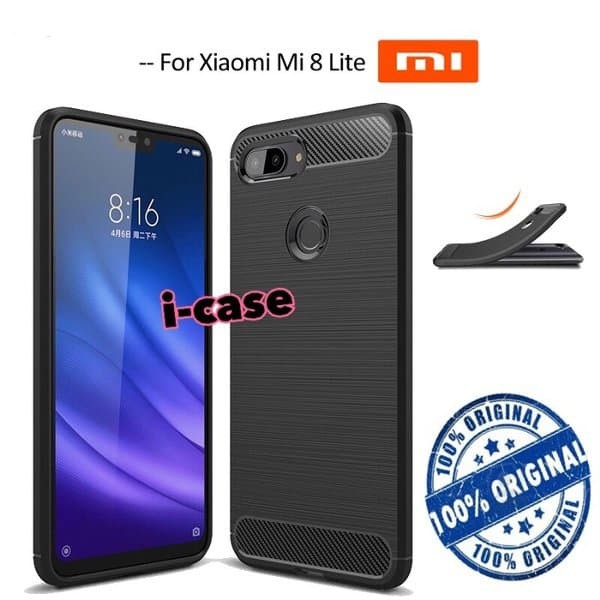 PROMO Xiaomi Mi 8 Lite ram 4gb black free bonus TERBATAS Harga Rp